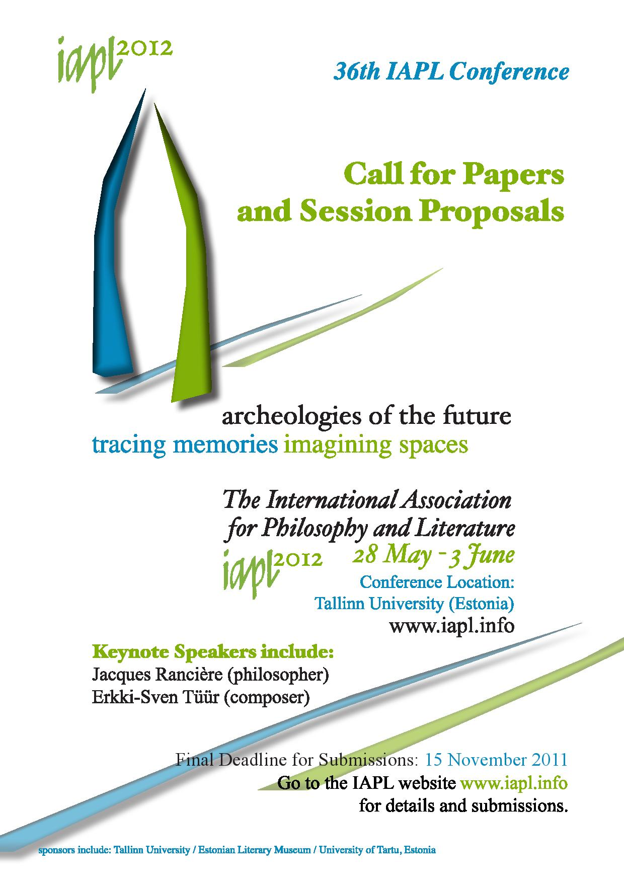IAPL/36: Archaeologies of the Future