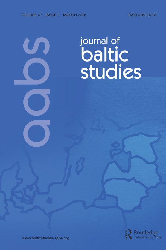 Between Arts and Politics: A Postcolonial View on Baltic Cultures of the Soviet era.